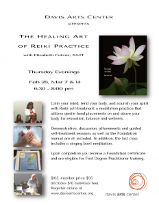 Healing Art of Reiki Practice